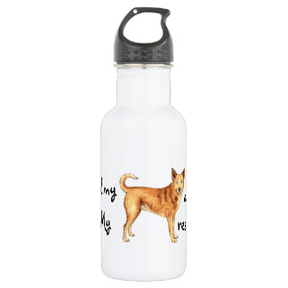 救助のCanaan犬 ウォーターボトル