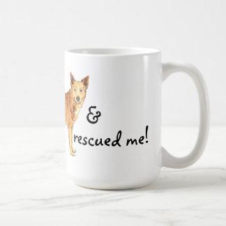 救助のCanaan犬 コーヒーマグカップ