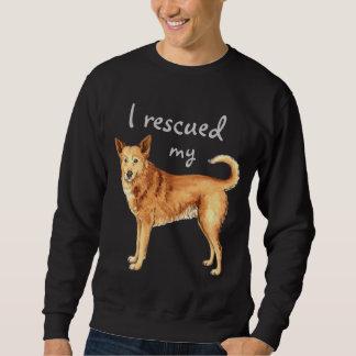 救助のCanaan犬 スウェットシャツ