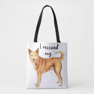 救助のCanaan犬 トートバッグ