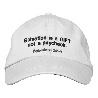 救助はギフトないペイチェック-帽子です 刺繍入りキャップ