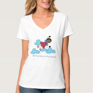 救助へのSLP Tシャツ