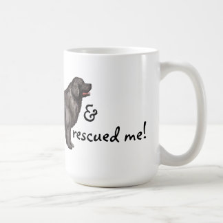 救助ニューファウンドランド コーヒーマグカップ