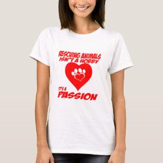 救助動物のTシャツ Tシャツ