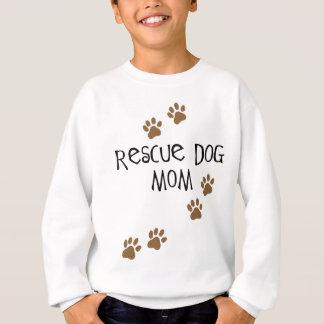 救助犬のお母さん スウェットシャツ