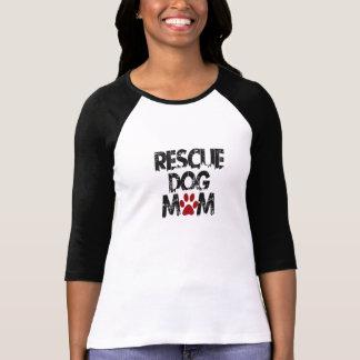 救助犬のお母さん Tシャツ