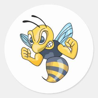 救命ジャケツのスズメバチ ラウンドシール