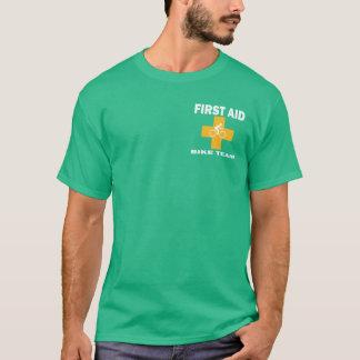 救急処置のバイクのチーム Tシャツ