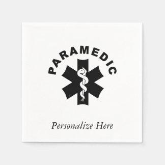 救急医療隊員のテーマ スタンダードカクテルナプキン