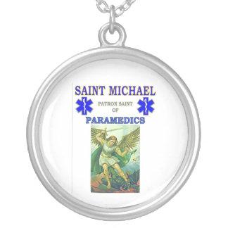 救急医療隊員の守護聖人 シルバープレートネックレス