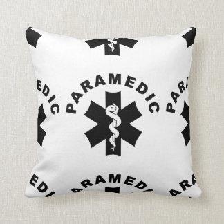 救急医療隊員EMSのロゴ クッション