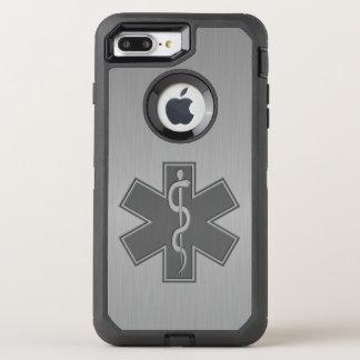 救急医療隊員EMT EMSのモダン オッターボックスディフェンダーiPhone 8 PLUS/7 PLUSケース