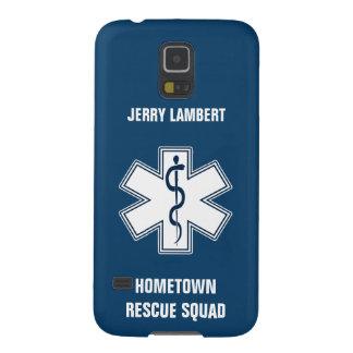 救急医療隊員EMT EMSの一流のテンプレート GALAXY S5 ケース