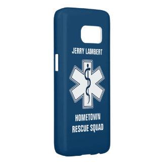 救急医療隊員EMT EMSの一流のテンプレート SAMSUNG GALAXY S7 ケース