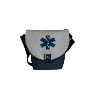 救急医療隊員EMT EMS メッセンジャーバッグ