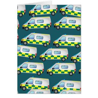 救急車の壁紙 カード
