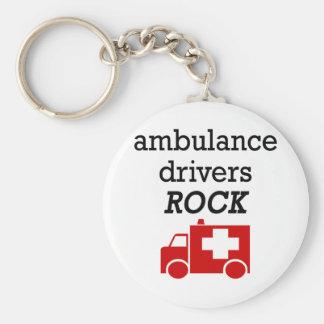 救急車の運転者の石 キーホルダー