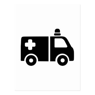 救急車 ポストカード