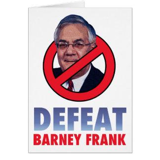 敗北の口論のフランク カード