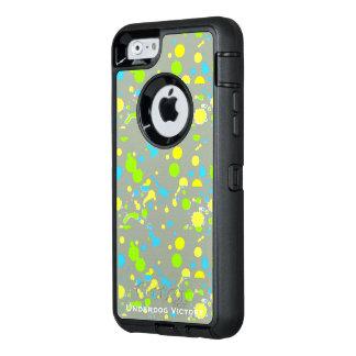 敗者の勝利-しぶきのIphone 6のカワウソの例 オッターボックスディフェンダーiPhoneケース