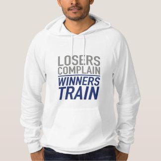 敗者は列車勝者の不平を言います パーカ