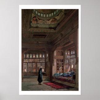 教主のサダト、カイロ1870年ハーレム ポスター