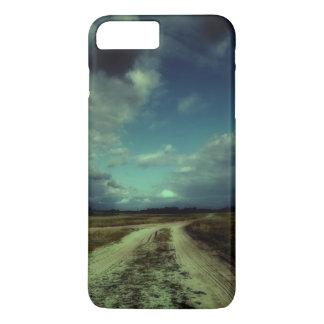 教会に導く田舎道 iPhone 8 PLUS/7 PLUSケース