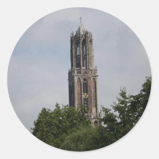 教会の塔 ラウンドシール