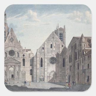教会の正面 スクエアシール
