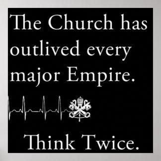 教会はあらゆる専攻のな帝国ポスターを克服しました ポスター