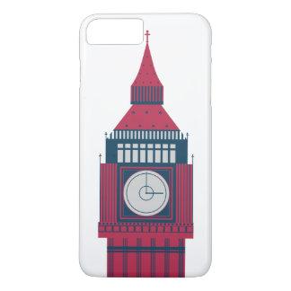 教会イギリスのイギリスの赤い青 iPhone 8 PLUS/7 PLUSケース