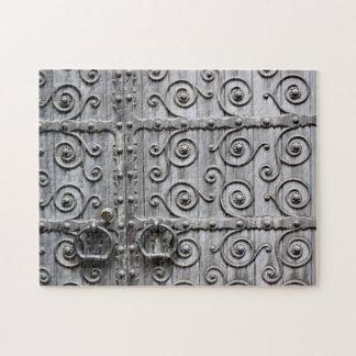 教会ドアのパズル ジグソーパズル