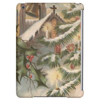 教会ヒイラギのクリスマスツリーの蝋燭のオーナメント