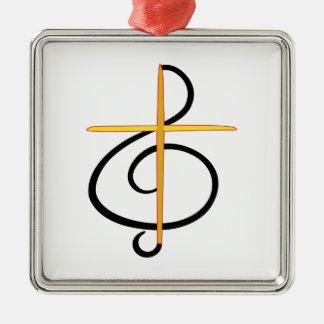 教会ミュージシャン メタルオーナメント