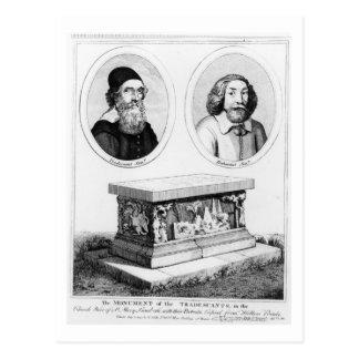 教会ヤードのTradescantsの記念碑 ポストカード