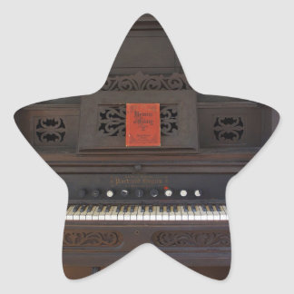 教会器官 星シール