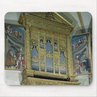 教会器官、c.1590の眺め マウスパッド
