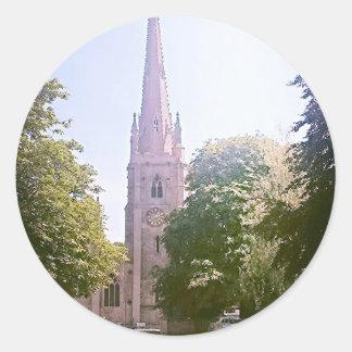 教会尖塔 ラウンドシール
