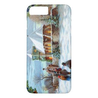 教会常緑のクリスマスツリーへ行くこと iPhone 8 PLUS/7 PLUSケース