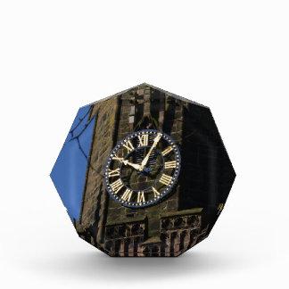 教会時計 表彰盾