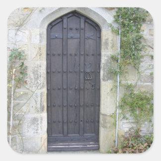 教会村のドア スクエアシール