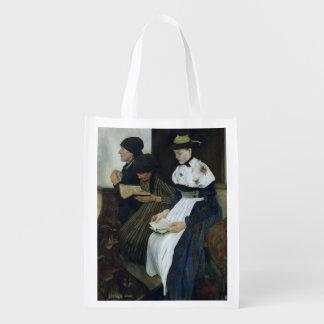 教会1882年の3人の女性 エコバッグ