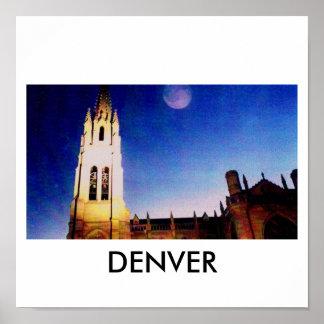 教会、デンバー ポスター