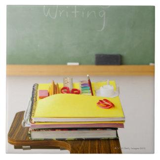 教室の黒板 タイル