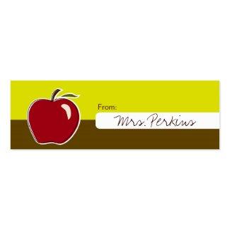 教師のギフトの札 profilecard