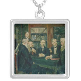教授のハンブルク大会、1906年 シルバープレートネックレス