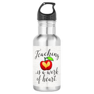 教授はハートの先生の感謝の仕事です ウォーターボトル