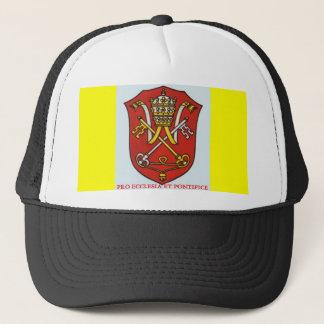 教皇の伝統的なカトリック教の紋章付き外衣 キャップ