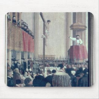 教皇のLegateの説教、コルネリウスMusso マウスパッド