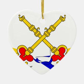 教皇州旗 セラミックオーナメント